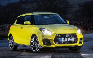 Suzuki Swift Sport 2018 года (UK)
