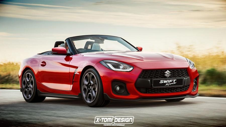 Suzuki Swift Sport Cabrio Z4 by X-Tomi Design