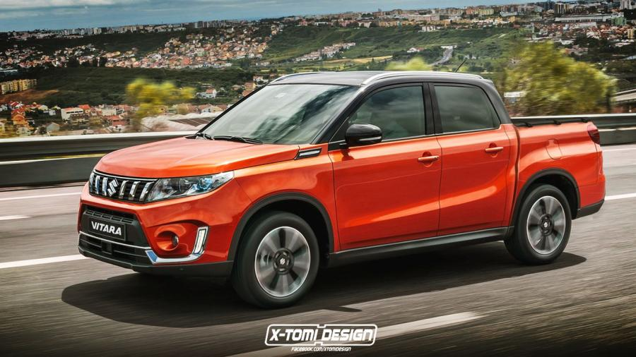 Suzuki Vitara Pickup by X-Tomi Design