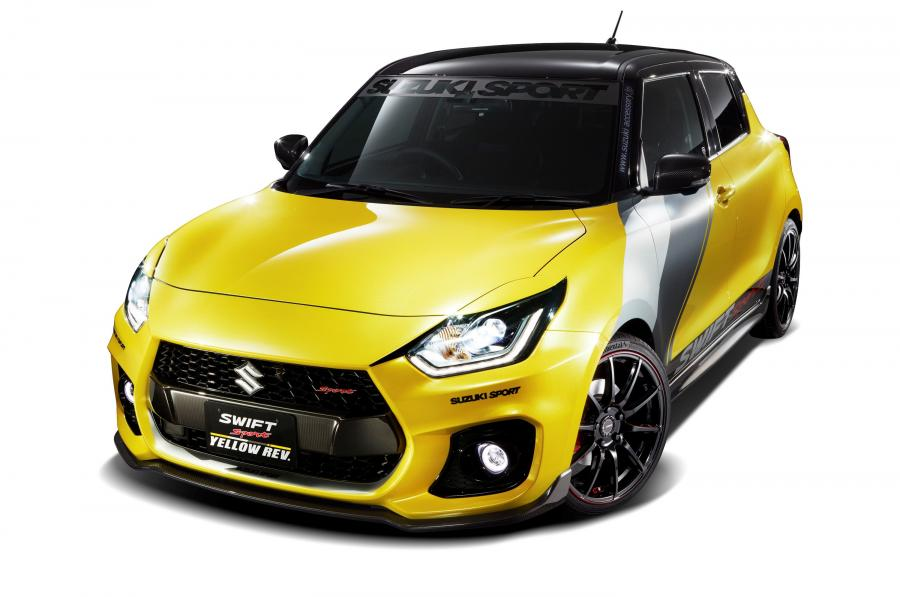 Suzuki Swift Sport Yellow Rev.