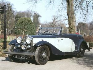1934 Talbot 110 Convertible by Young