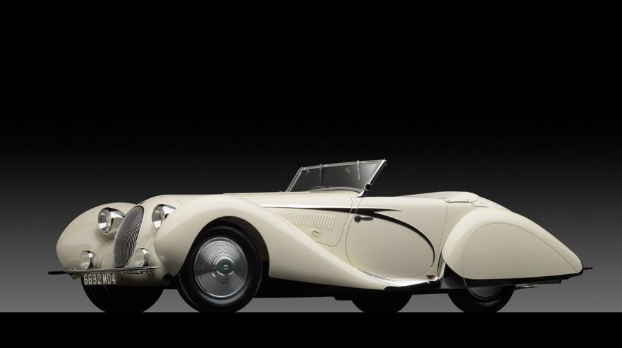 Talbot-Lago T150C Cabriolet by Figoni & Falaschi '1936