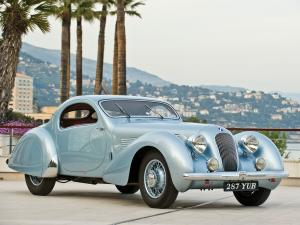 Talbot-Lago T23 Teardrop Coupe by Figoni & Falaschi 1938 года