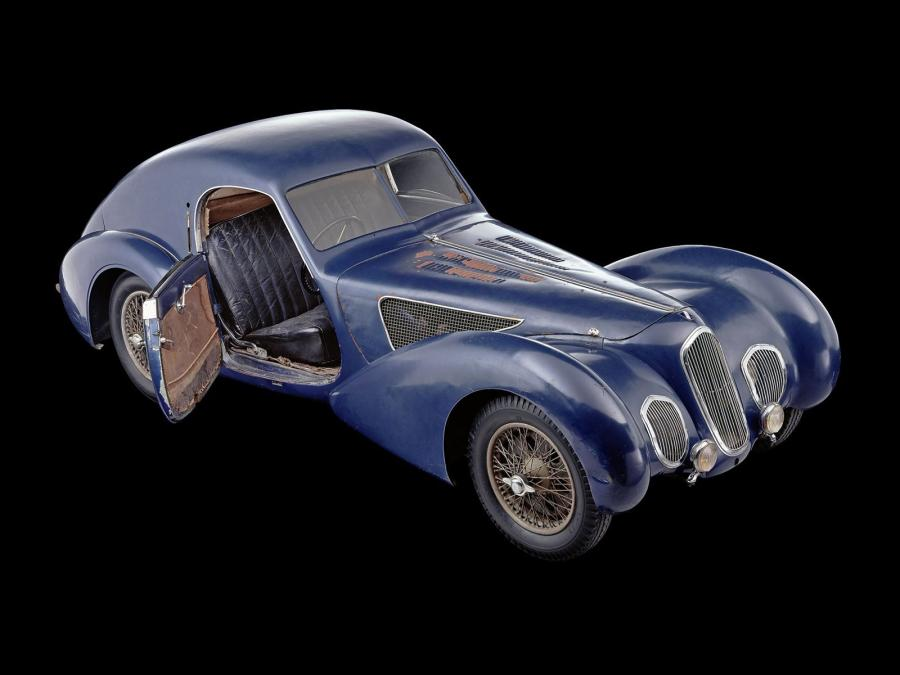 Talbot-Lago T150C SS by Pourtout '1939