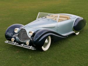 1946 Talbot-Lago T26 Record Cabriolet by Figoni & Falaschi