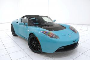 2010 Tesla Roadster Sport with Green Package by Brabus