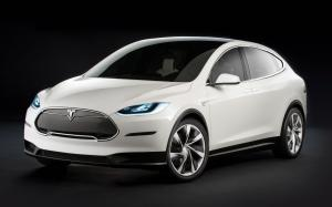 Tesla Model X Prototype 2012 года