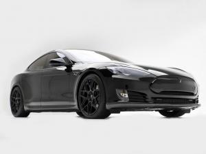 Tesla Model S Black Wheels by T Sportline