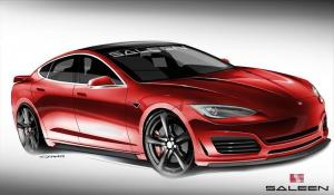 Tesla Model S by Saleen 2014 года