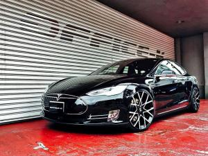 Tesla Model S by Office-K on Forgiato Wheels (Insetto-ECL) 2016 года