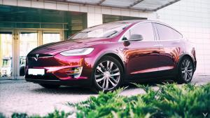Tesla Model X P90D by Vilner 2016 года