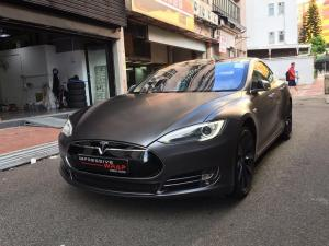 2017 Tesla Model S P85+ by Impressive Wrap
