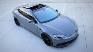 Tesla Model S Zero TS by Zero to 60 Designs 2017 года