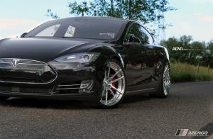 Tesla Model S by 3Zero3 Motorsports on ADV.1 Wheels (ADV5.2 M.V2) 2017 года