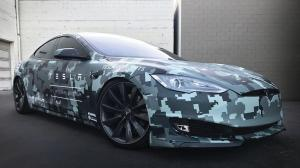 Tesla Model S by SS Customs 2017 года