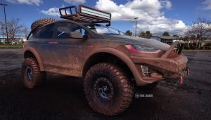 Tesla Model X Off-Roader by MD Aoun 2017 года