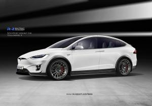 Tesla Model X R-Zentric by RevoZport 2017 года