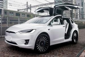 2017 Tesla Model X on Forgiato Wheels (Disegno)