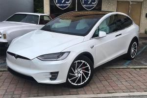 2017 Tesla Model X on Forgiato Wheels (Ventoso-M)