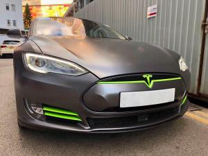 Tesla Model S 60 by Impressive Wrap 2018 года