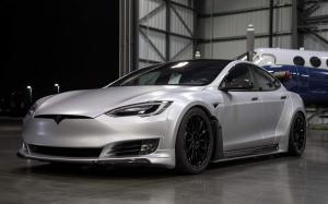 Tesla Model S P100D by Unplugged Performance 2018 года
