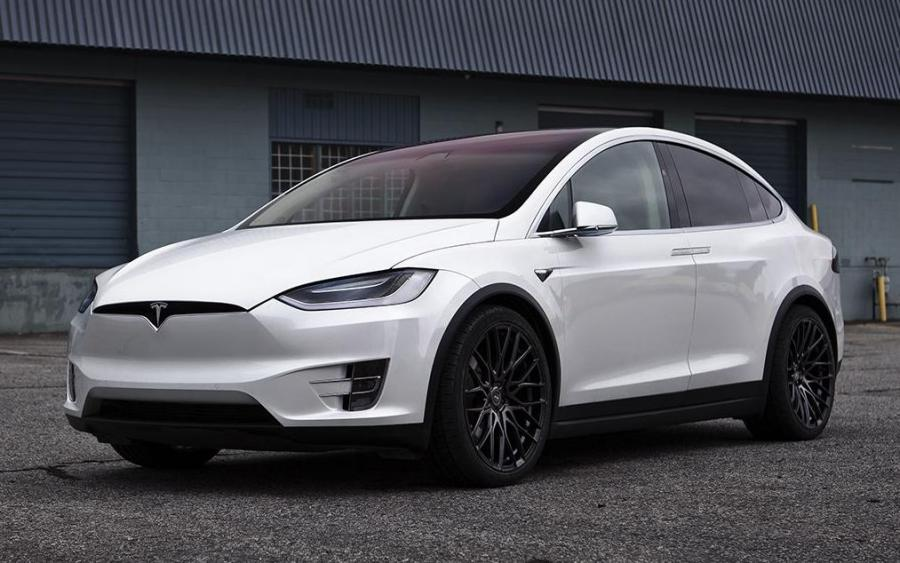 2018 Tesla Model X 100d by SR Auto Group on PUR Wheels (FL25)