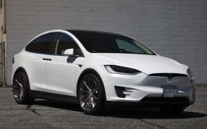 Tesla Model X P100D by SR Auto Group on PUR Wheels (PUR RS08) 2018 года
