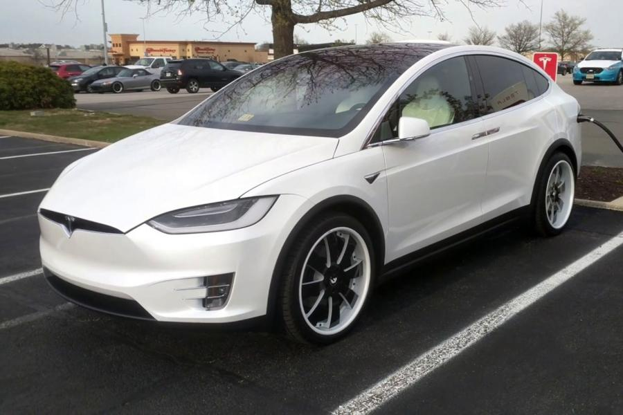 2018 Tesla Model X on Forgiato Wheels (OTTO)
