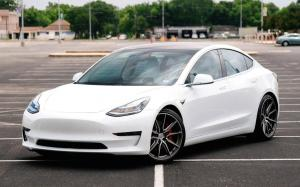 Tesla Model 3 by EVS Motors on Vossen Wheels (HF-3) '2019