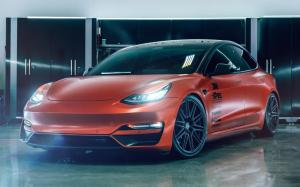 Tesla Model 3 by Signature on Vossen Wheels (CV10) '2019