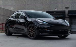 Tesla Model 3 by TAG Motorsports on Vossen Wheels (HF-2) '2019