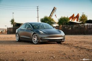 2019 Tesla Model 3 on Avant Garde Wheels (AG M580)