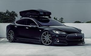 Tesla Model S on Vossen Wheels (HF-3) '2019