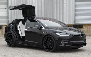 Tesla Model X 90D on Forgiato Wheels (FLOW 001) '2019