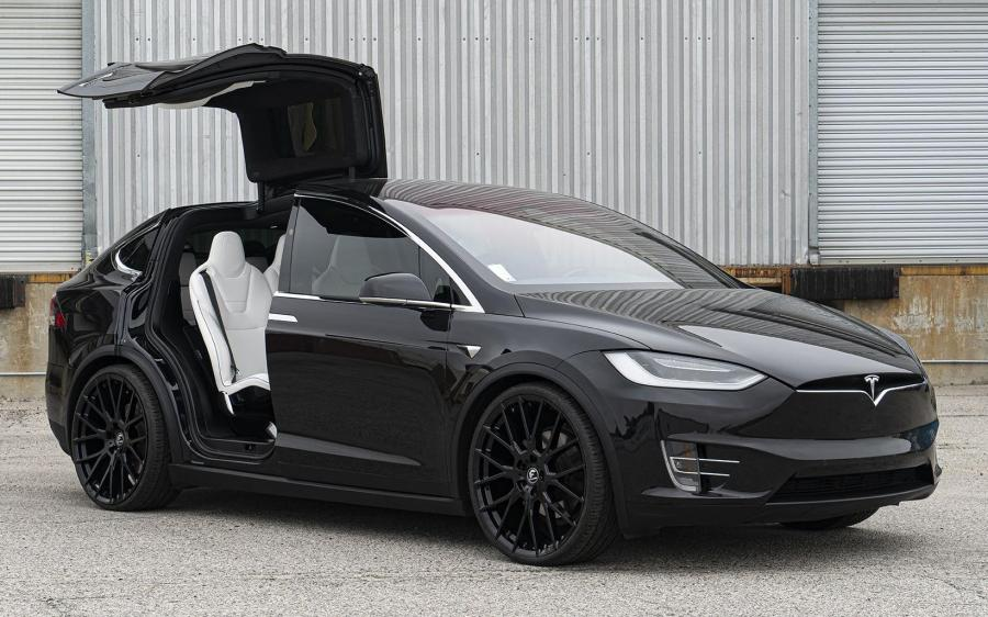 2019 Tesla Model X 90D on Forgiato Wheels (FLOW 001)