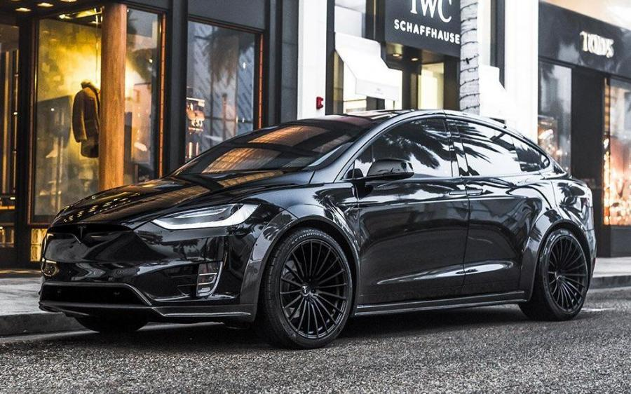 2019 Tesla Model X P100D Widebody by T Sportline