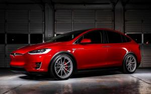 Tesla Model X P90D on Vossen Wheels (ML-X2) '2019