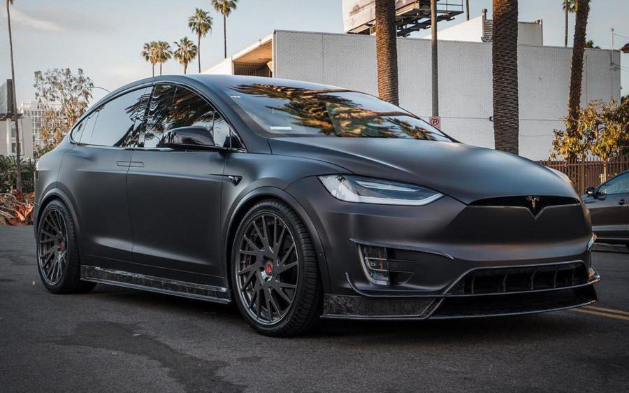2019 Tesla Model X by RDB LA on Forgiato Wheels (TEC 2.5)