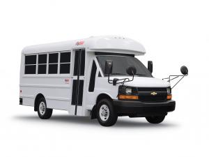 2009 Thomas Minotour MyBus based on Chevrolet Express
