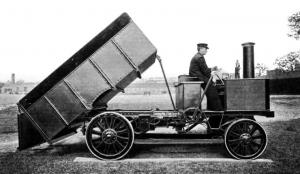 1900 Thornycroft Steam Tipping Wagon