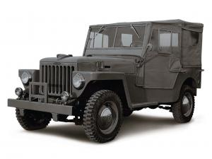 Toyota Land Cruiser 25 BJ Drugie 1954 года