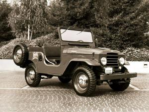 Toyota Land Cruiser 20 Canvas Top 1957 года