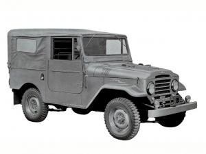 Toyota Land Cruiser 20 Canvas Top 1958 года