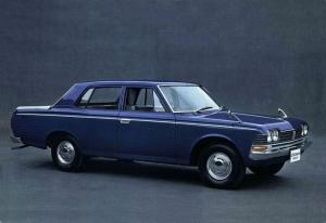 Toyota Crown Double Seat Pickup 1968 года
