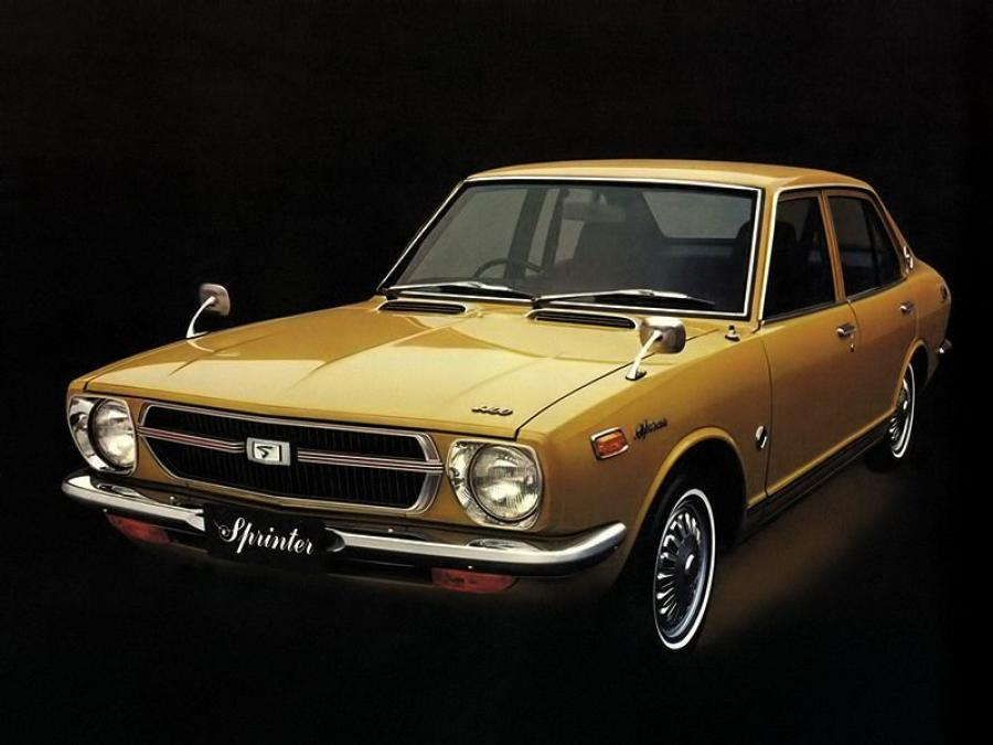 1971 Toyota Sprinter 1400 Deluxe Sedan