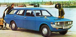 Toyota Corona Mark II 2000 Estate 1972 года
