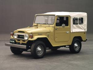 Toyota Land Cruiser Canvas Top