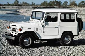 Toyota Land Cruiser Hard Top