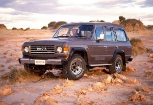 Toyota Land Cruiser 60 1980 года