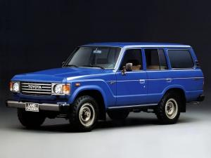 Toyota Land Cruiser 60 Wagon 1980 года